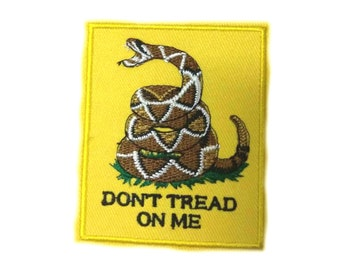 Dont Tread On Me Womens Rights Gadsden Flag Sew On Patch