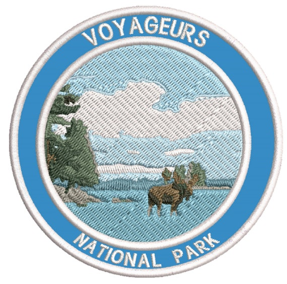 Yellowstone National Park Embroidered Patch Iron//SewOn Applique Explore Souvenir