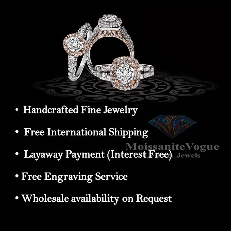 0.80 ct solid gold white moissanite solitaire classic engagement ring Yellow Gold Rose Gold available 18K 14K 10K White Gold