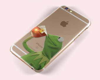 dd1b39ee46cf8a But That's None Of My Business Kermit Meme iPhone X 5 S SE 6 6S Plus 7 8  Samsung Galaxy S5 S6 S7 S8 S9 Edge TPU Soft Silicone Skin Gel Case