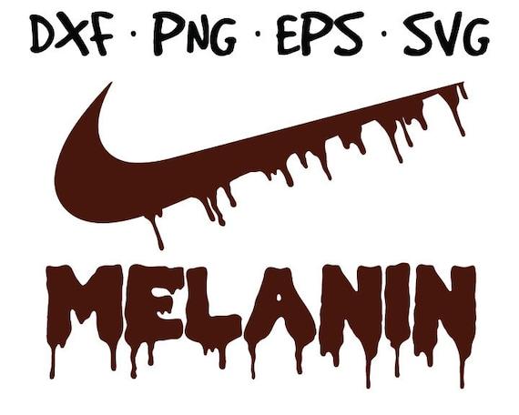 Dripping Nike Logo Svg