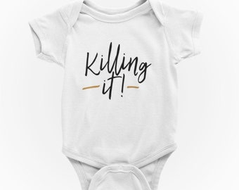 TooLoud Uncle Swag Text Infant T-Shirt Dark