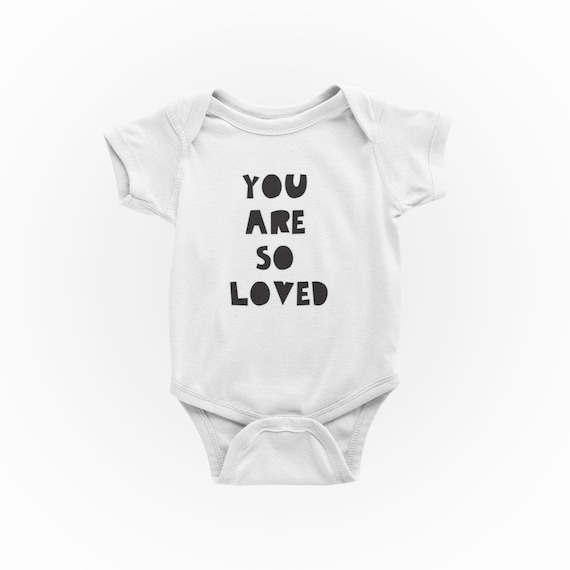 Loved Baby Onesie Loved Baby Coming Home Loved Baby Shower Gift