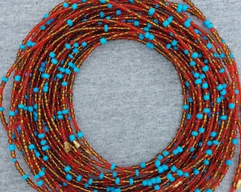 Christmas Waist Beads with Tree Charm African WaistBeads Gifts for Christmas
