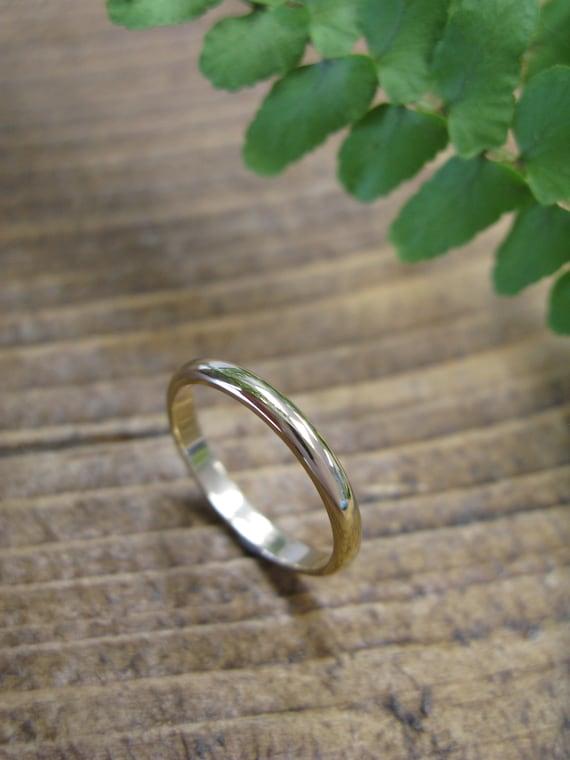 Simple Wedding Band FREE Engraving 2mm Ring Classic Wedding Band Narrow Slim Wedding Ring Dainty Ring Ladies Wedding Ring