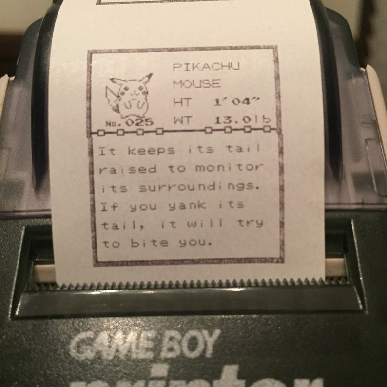 Printed Pokédex Profiles 1-67 and Diploma from Game Boy image 0