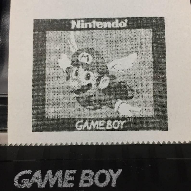 Nintendo Game Boy Camera Secret Photos  Album B Game Boy image 0