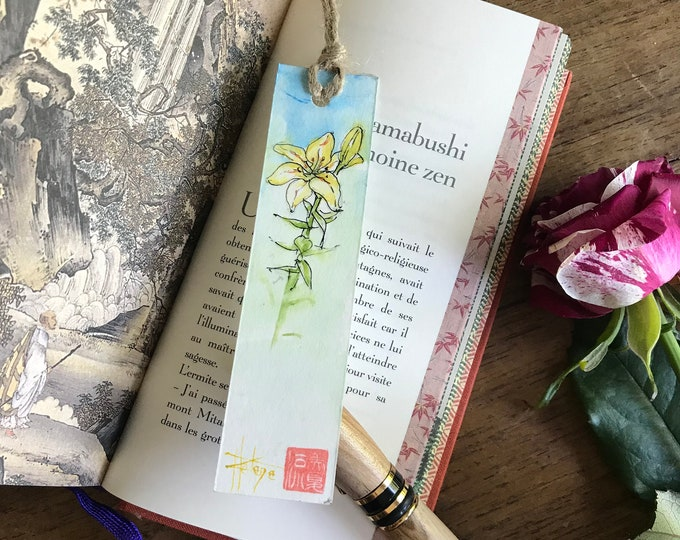 Bookmark, hand painted in watercolor. unique model to choose from