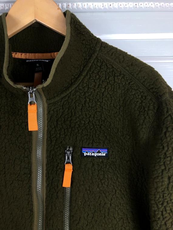 patagonia retro pile 1/3 zip fleece 90s  vintage s