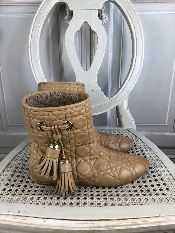 authentic Dior boots shoes