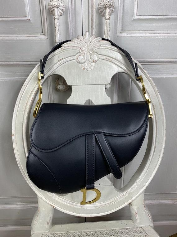 dior saddle lether bag