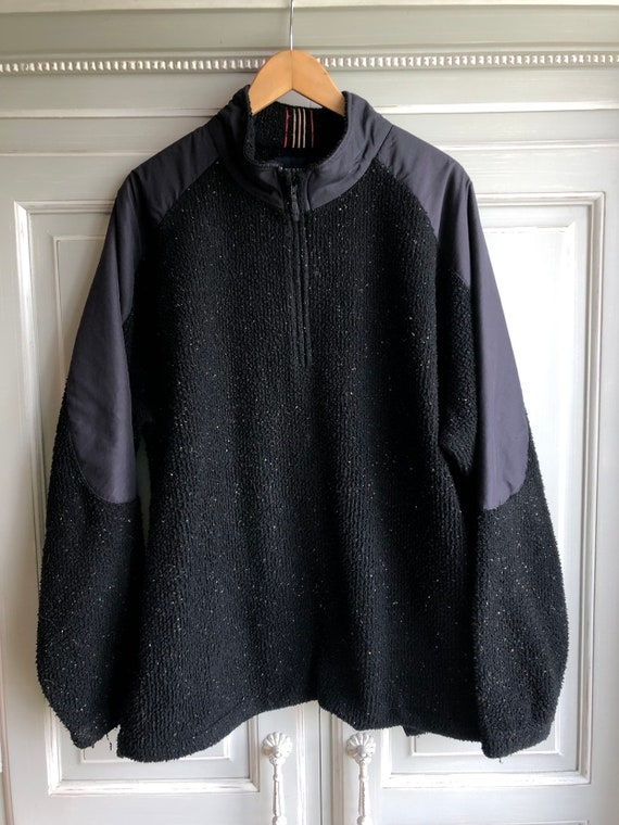 Vintage Burberry fleece nova check 90s