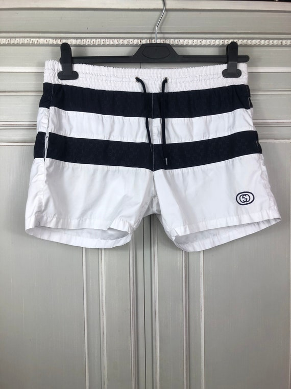 gucci monogram shorts