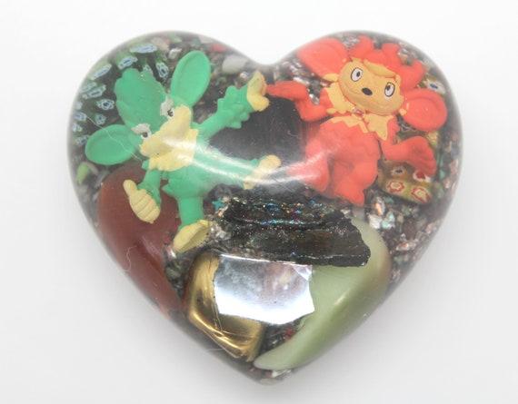 Simisage and Simisear Grass and Fire Monkies From Gen 5  - Rainbow Hematite - Magnet - Aluminum Pokemon Display Piece PoGo - EMF Blocker