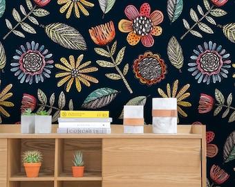 Folk   Removable Wallpaper   Pattern #85