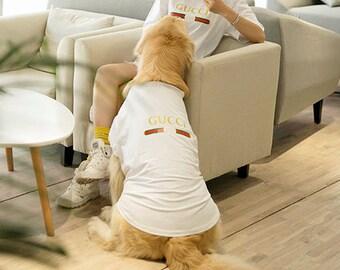 6c002f7762fb1 Dog gucci shirt   Etsy