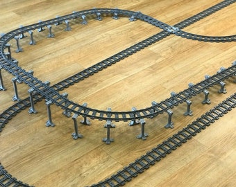 works with 60051 60052 Track Lego compatible train set supports Unique design