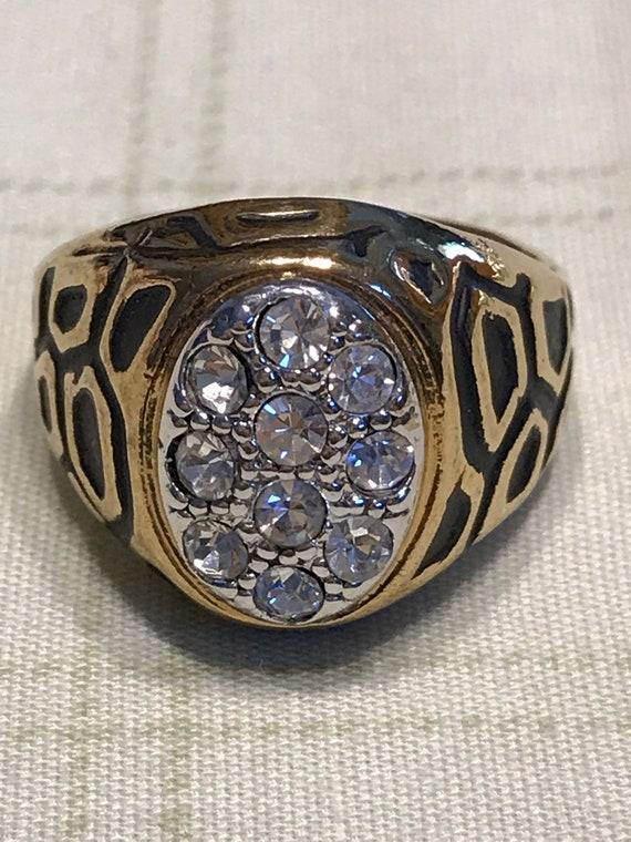 18K H.G.E Men's Ring Sz 10