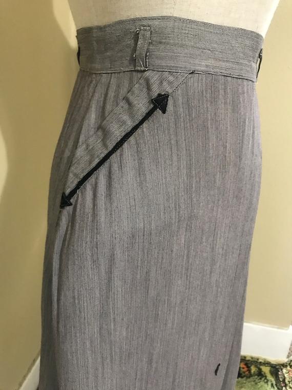 1940s western pencil skirt - image 5