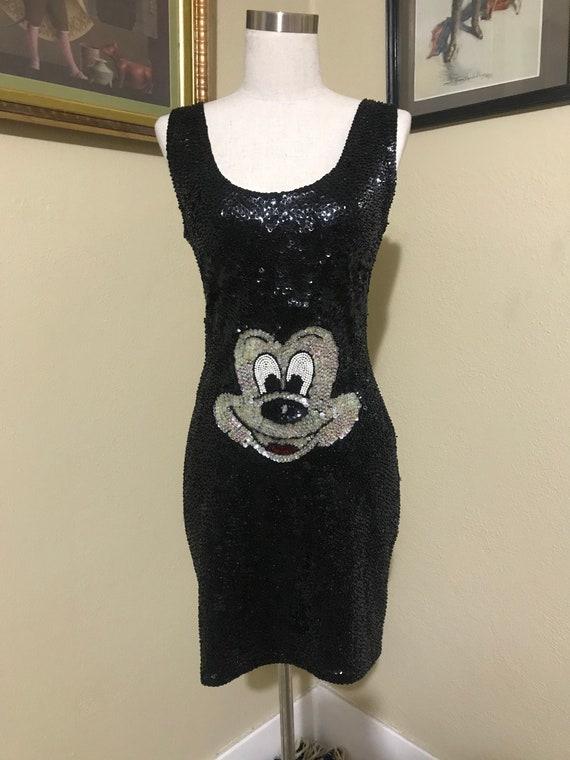 1980's Mickey Mouse Tank Dress