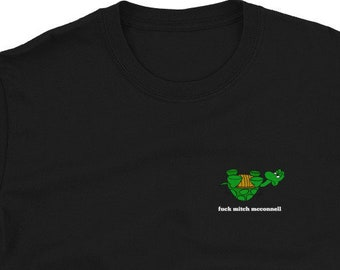 Fuck Mitch McConnell Give me my Stimulus Money! Stimulus Check Short-Sleeve Unisex T-Shirt
