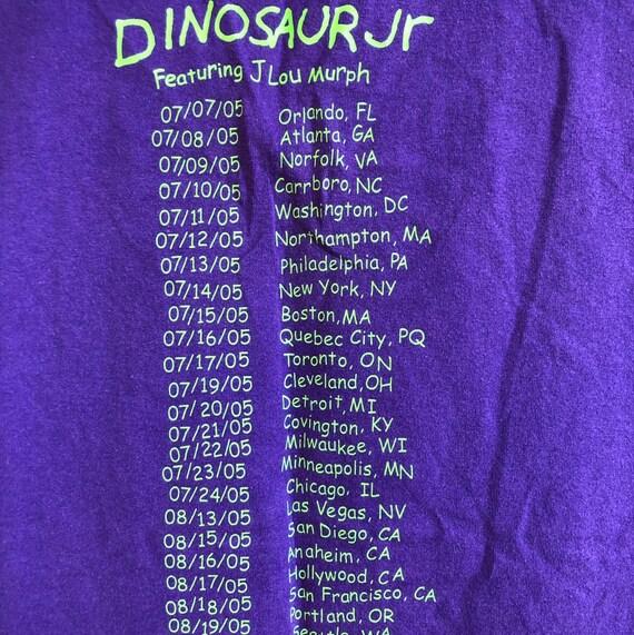 Dinosaur Jr Tour Shirt 2005 Vintage Concert T shi… - image 3