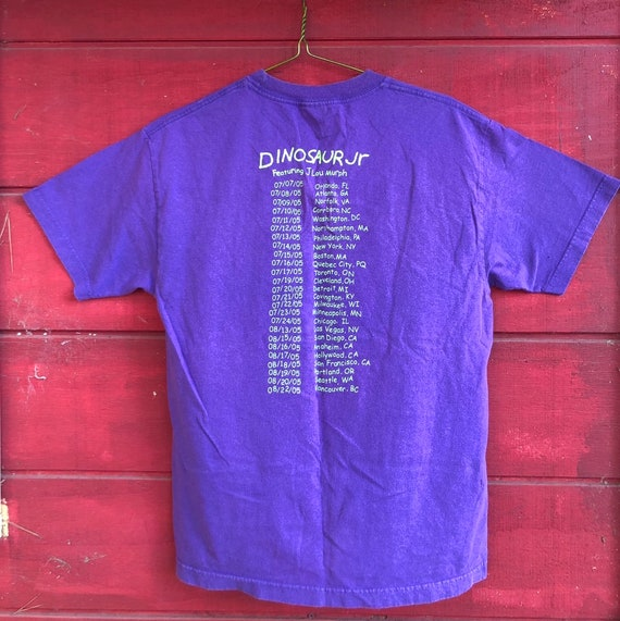 Dinosaur Jr Tour Shirt 2005 Vintage Concert T shi… - image 2