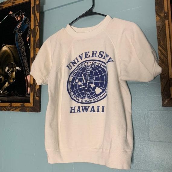 Vintage 60s University Hawaii Crewneck Sweatshirt
