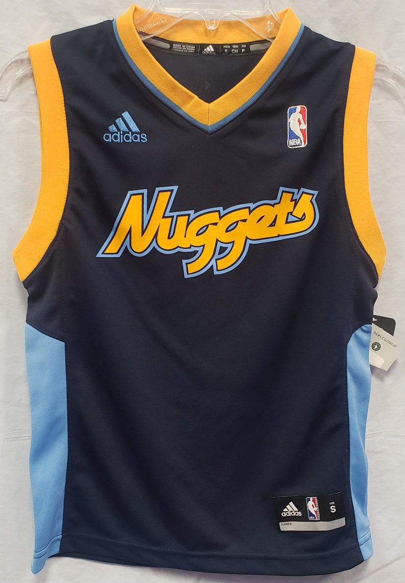 purchase cheap 28e3b 7d437 New NBA Denver Nuggets Navy Blue Jersey