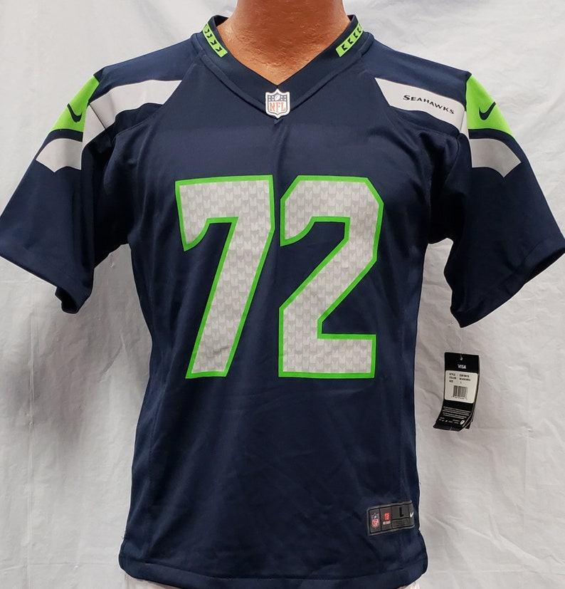 official photos 1044c 5ce14 New NFL ON Field Seattle Seahawks #72