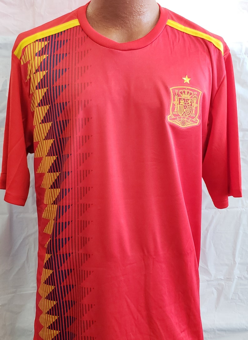New Spain National Team Red Jersey