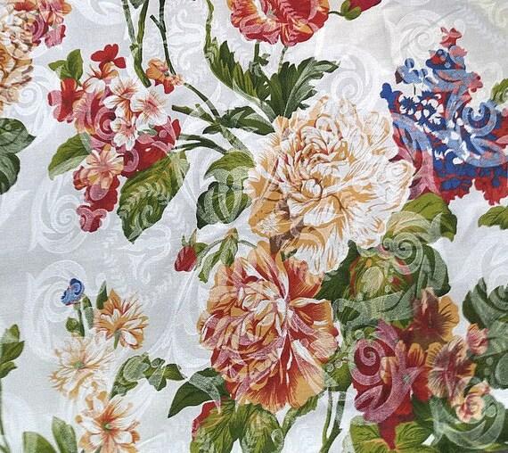 "12 Yards 60/"" Damask Printed Satin Fabric 100/% Polyester Charmeuse Draping SALE**"