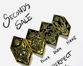 Seconds sale, Preceptor pins