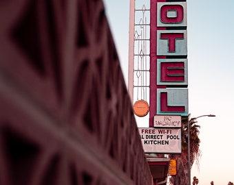 Hollywood Motel Print