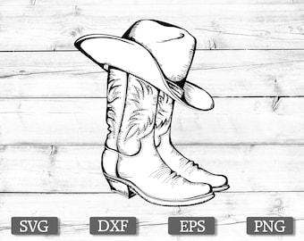 e6d0dd3debbf8 COWBOY BOOTS SVG