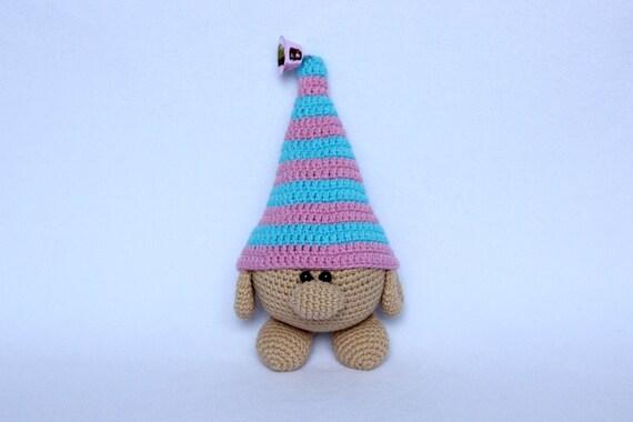 Gnome pattern, Crochet gnome toy, Handmade gnome, Amigurumi gnome