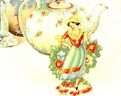 Rare find - quot The China Lady quot pattern by Homer Laughlin - Pie Server