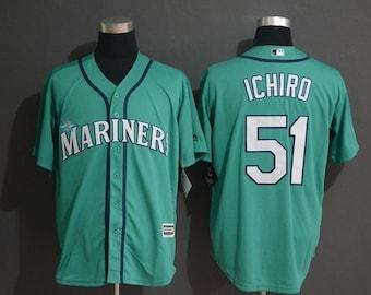 62adedb4dda Men s Seattle Mariners Ichiro Suzuki Majestic Home White Cool Base Player  Jersey