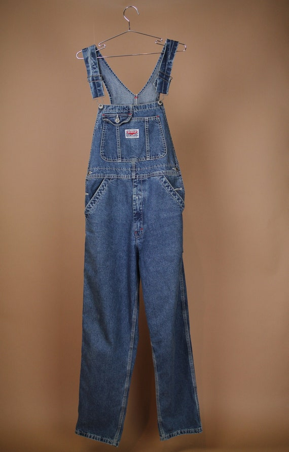 Ikeda Denim Overalls - Vintage 90s Work Overalls