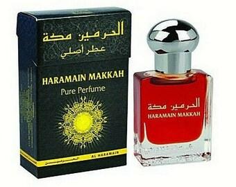 34f75fc9b Makkah 15ml By Al Haramain Jasmine Orange Balsamic Musk Vanilla Perfume Oil