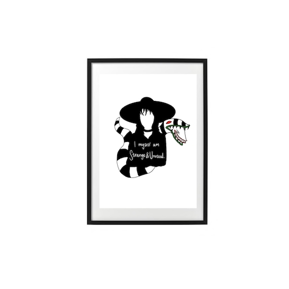 Beetlejuice Lydia Deetz Quote Instant Download Etsy