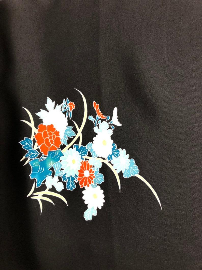 Vintage Japanese Silk Kimono Fabric 3512
