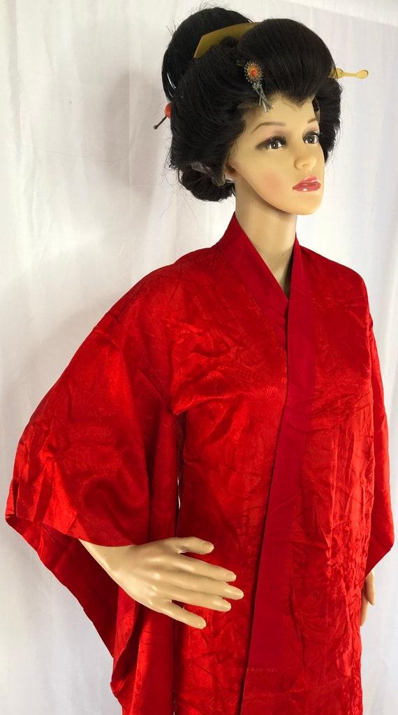 Vintage Kimono/ Japanese Kimono/ Nagajuban/ 28746