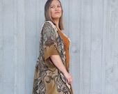 Upcycled Silk Kimono