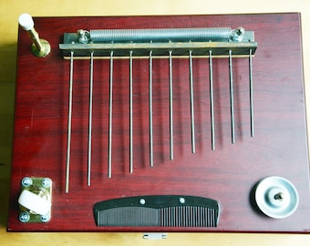 Springzinger Electroacoustic Percussion Instrument- The Mustache
