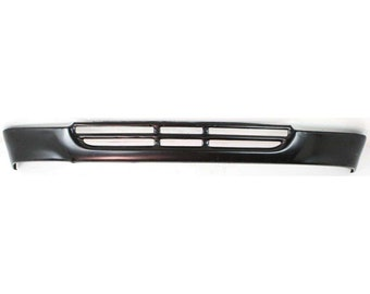 2wd TO1095104 Painted-Black New Front Lower Valance For 1992-1995 Toyota Pickup Panel Steel