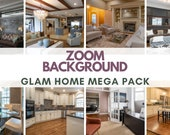 Zoom Background Pack - High Quality Zoom Background (Glam Home)