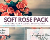 Floral Zoom Background Pack - 3 Custom High Quality Floral   Background Photos for your Virtual