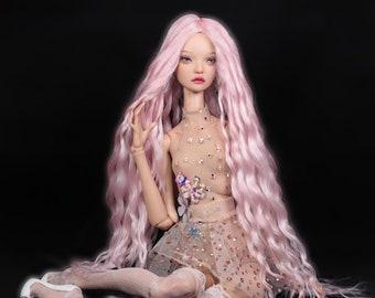 bjd wig for Tender creation doll Angora goat