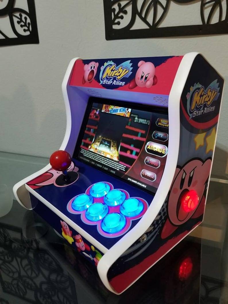 Ultimate Mini Bartop Arcade Machine Cabinet Raspberrypi NEW